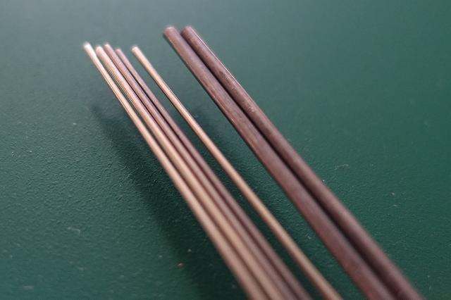 画像1: フレキライン Φ1.0mmx150mm 6本入