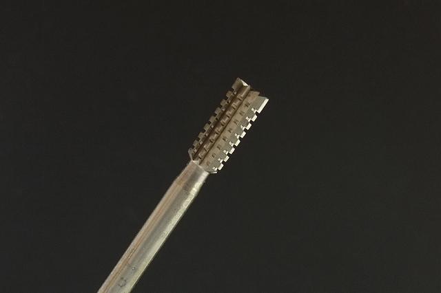 画像2: 円柱粗目ビット-2mm