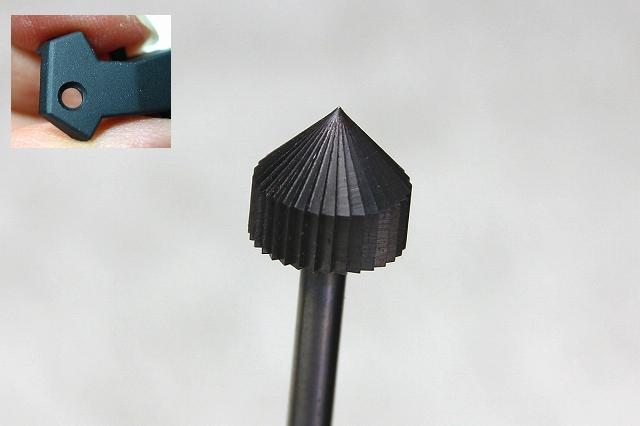 画像1: 五角形ビット 3mm