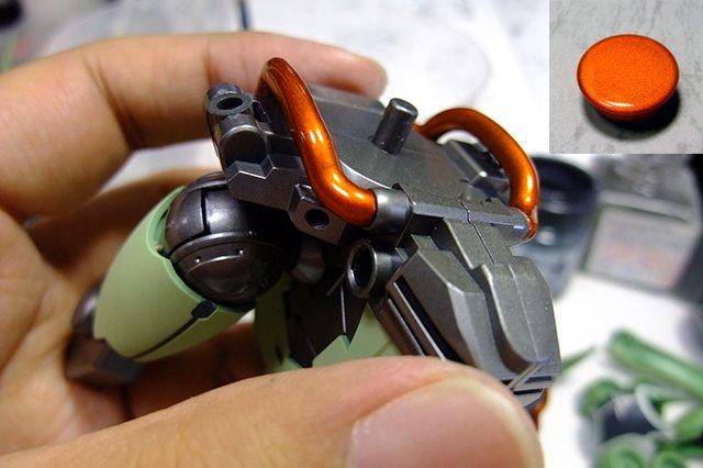 画像1: PPカラーセットK-メタリックオレンジ・3層コート