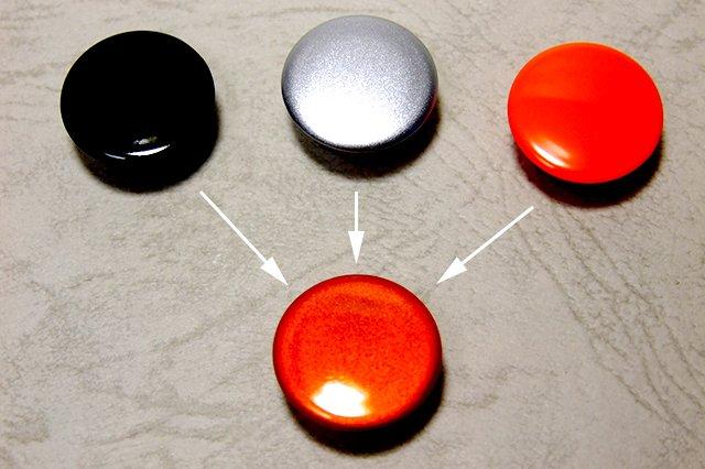 画像2: PPカラーセットK-メタリックオレンジ・3層コート