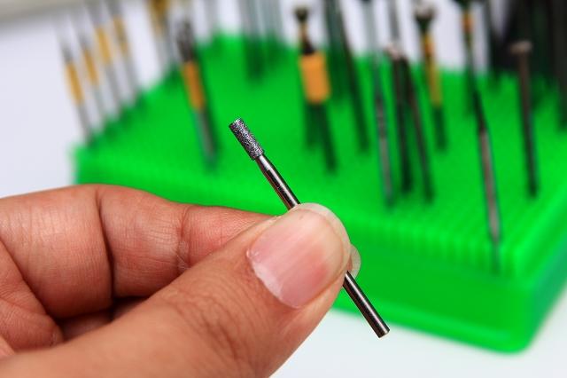 画像1: ダイアモンドビット 丸棒 2.5mm