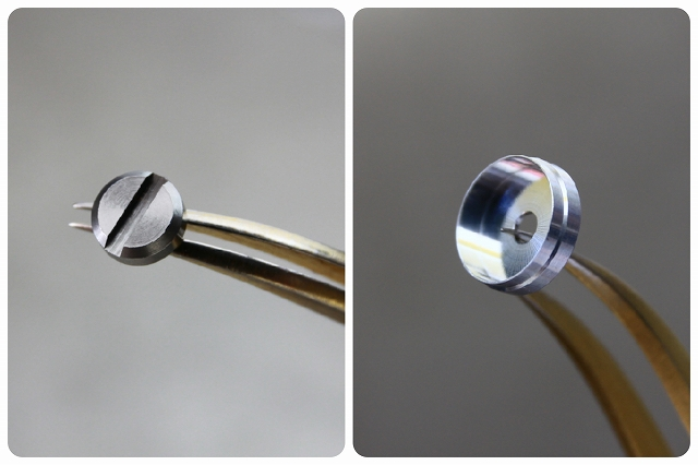 画像5: マイナスリベット5mm+丸皿6mmセット 8個入