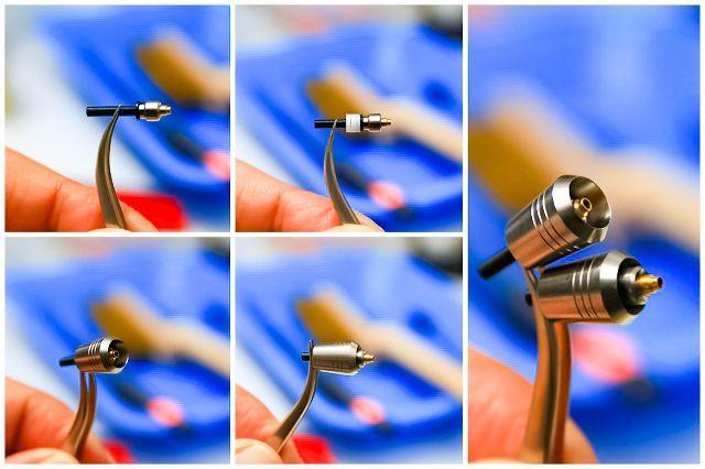 画像3: インナーノズル調整用スペーサー黒 外径4mm 穴2mm 厚1mm 30枚入