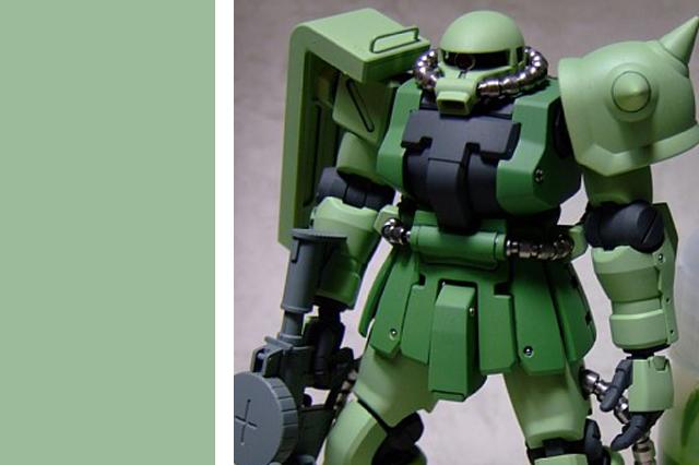 画像1: PPカラー06・量産グリーン薄