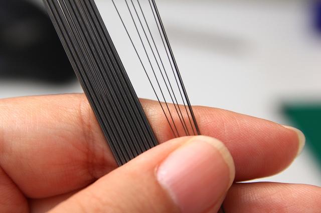 画像1: 模型用 ピアノ線 Φ0.5mmx100mm 3本入