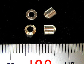 画像1: 面取パイプG  片面-ステンレス 4mm 30個入