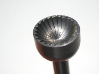 画像1: 丸凹ビット 3mm