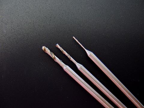 画像1: 精密ドリルC-0.9mm