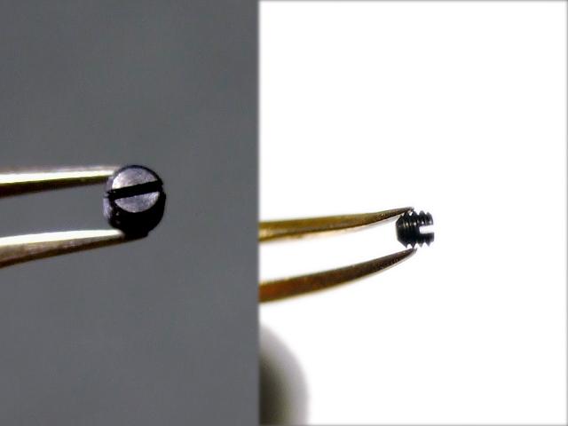 画像1: ネジSM2002イモネジ・マイナスM2.0-L2mm 30本入